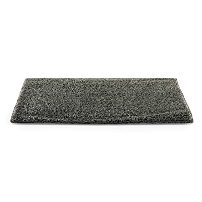 "Camco 42950 RV Step Rug ( Premium Radius Wrap Around Step Rug, Turf Material (22"" Wide) - Gray): Automotive"