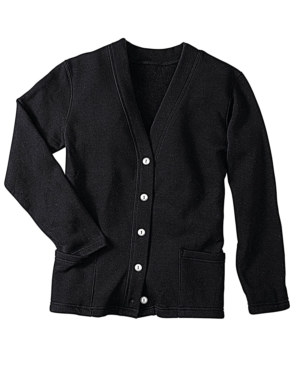 Pembrook Womens Fleece Cardigan Jacket with Embroidery at Amazon ...