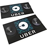 Uber Sign New Logo. Removable Front and Rear Windshield Rideshare Placard (2) Pack. ThermoPlastic PVC Signs. These are NOT a laminated piece of paper!!