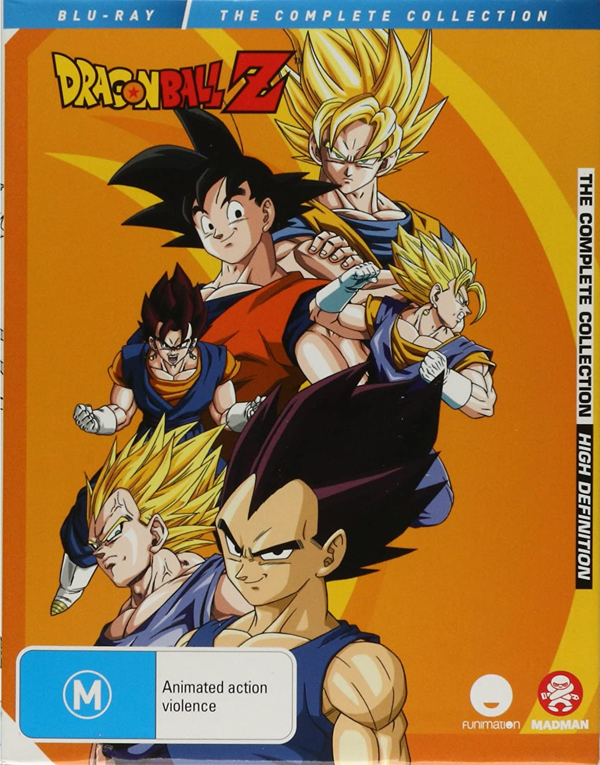 Dragon Ball Z Complete Collection [USA] [Blu-ray]: Amazon.es: Cine ...