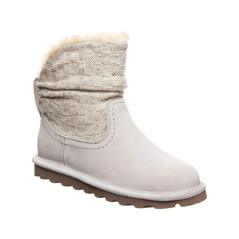 b4a67308e24 Amazon.com   BEARPAW Womens Virginia Fabric Closed Toe Ankle Fashion Boots    Shoes