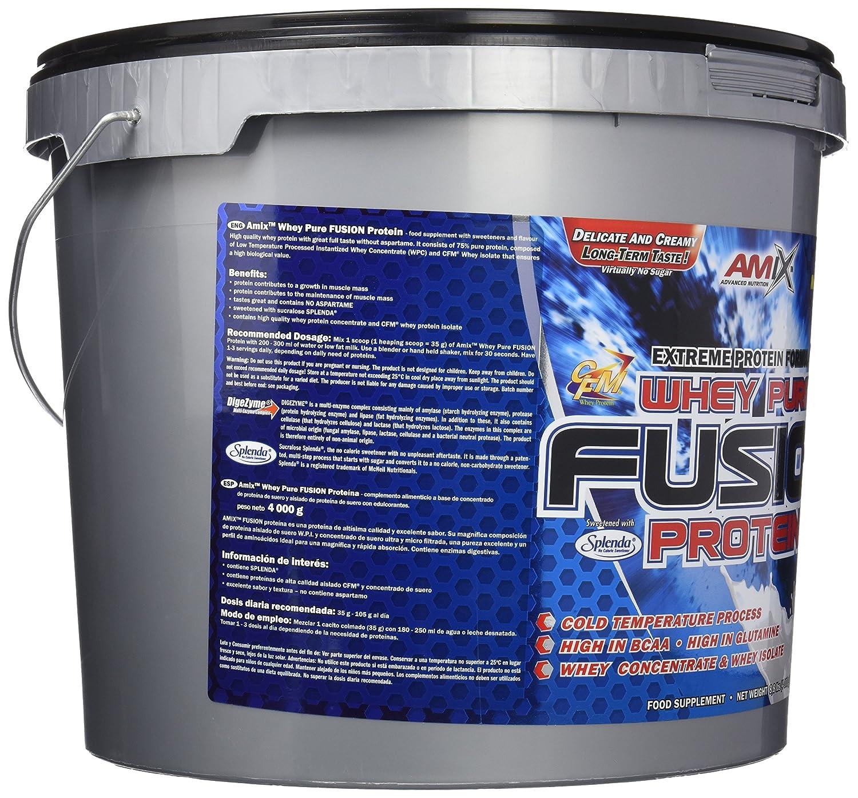 Amix Whey Pure Fusion Proteínas - 4000 gr_8594159538870