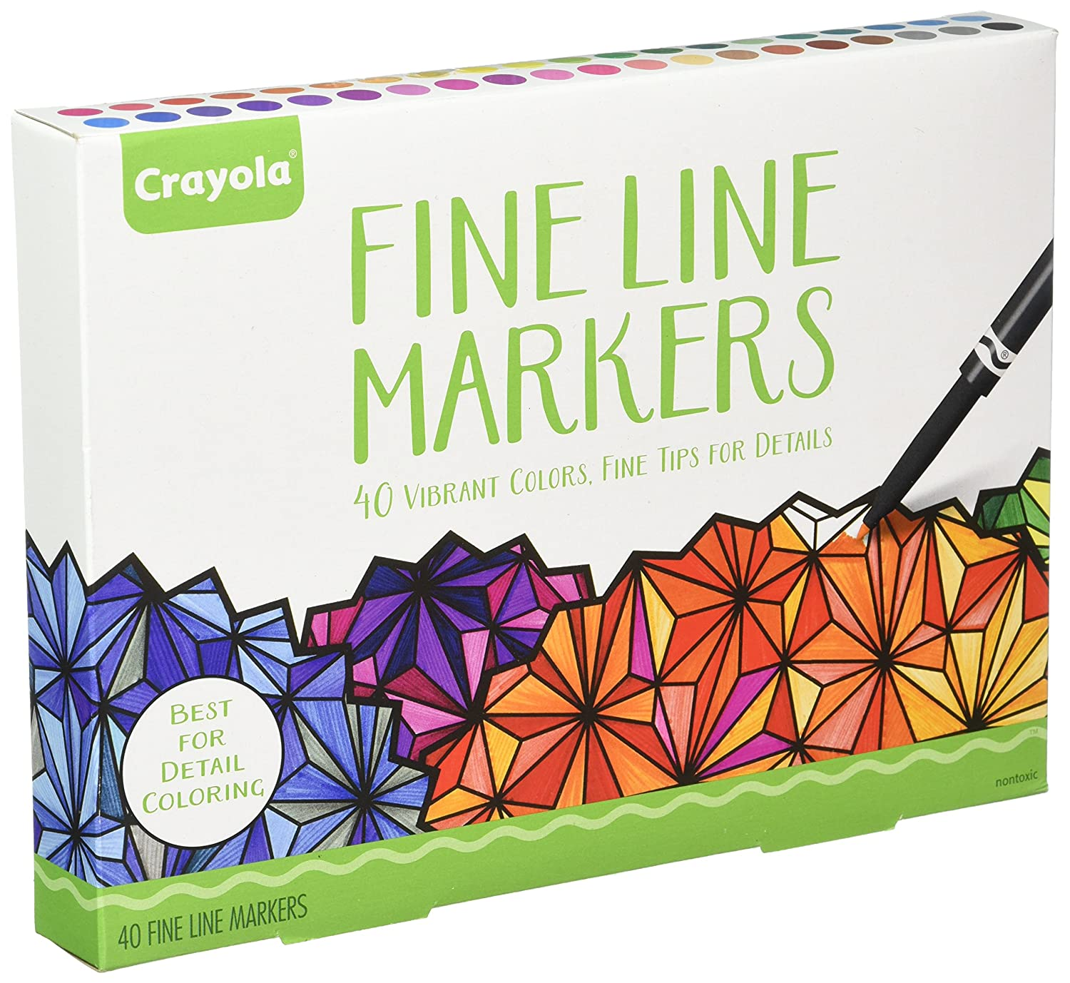 Head Over To Amazon Snag Crayola Adult Coloring 40Ct Fine Line Markers Great For Books 1130 On Sale Buy One Get FREE