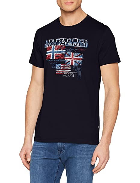 Napapijri Syros, Camiseta para Hombre