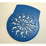 Tupperware Tortenretter Pfiffikus Dekoschablone neu D 40 blau