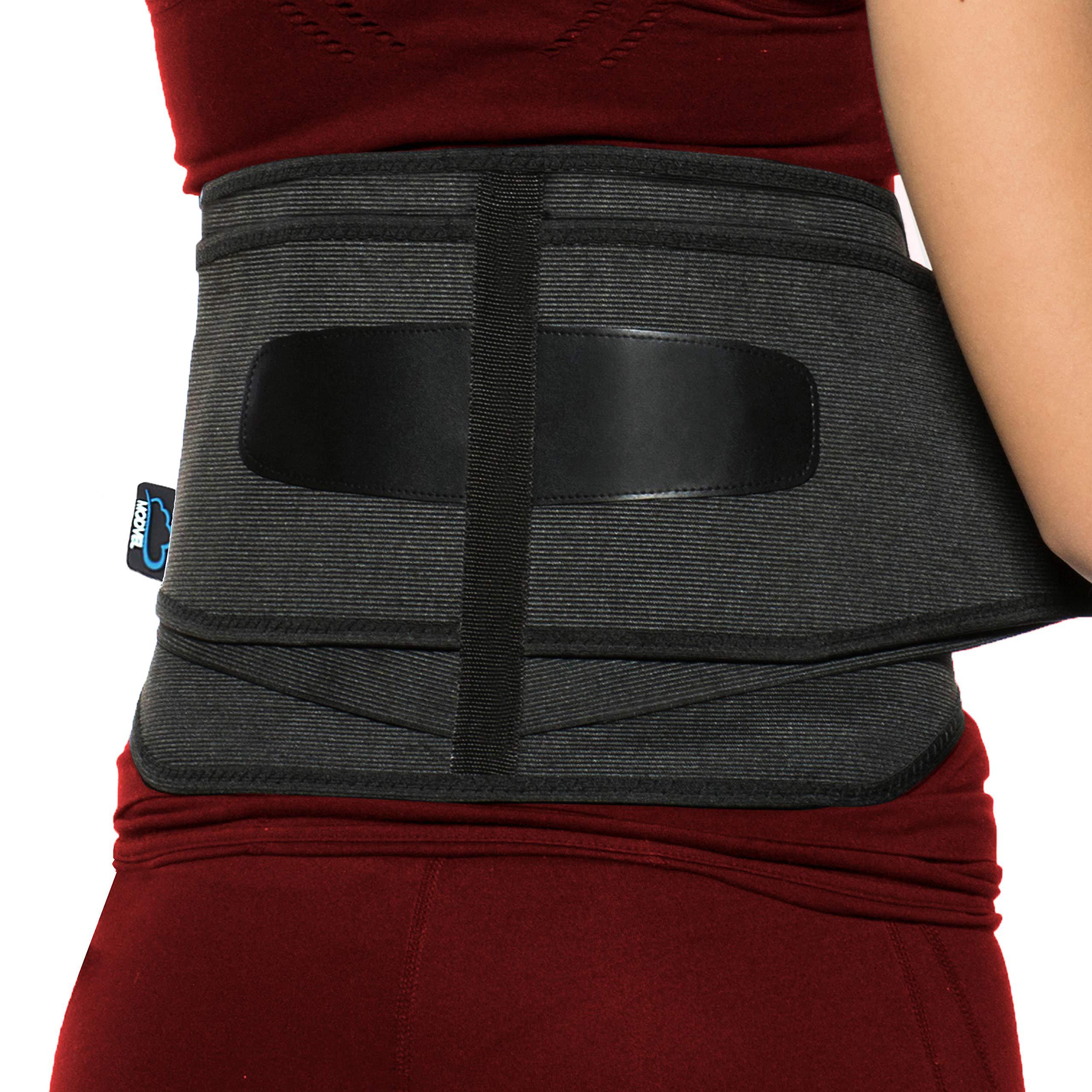 f64c1b1ccf4 Modvel Lower Back Lumbar Support Brace for Men   Women - Orthopedic Posture  Corrector Brace Belt