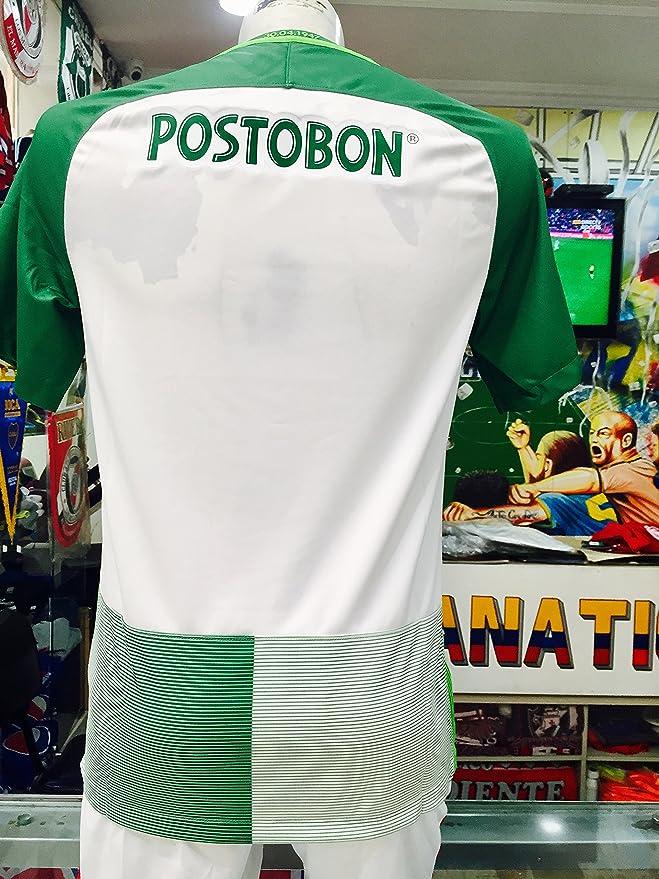 961977959 Amazon.com : Atletico Nacional DE Medellin COPA LIBERTADORES Soy DEL Verde  Y Soy Feliz Colombian Jersey Camiseta T Shirt Size Small ONLY : Sports &  Outdoors