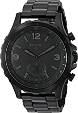 Smartwatch Híbrido Fossil Q Nate FTW1115 Negro