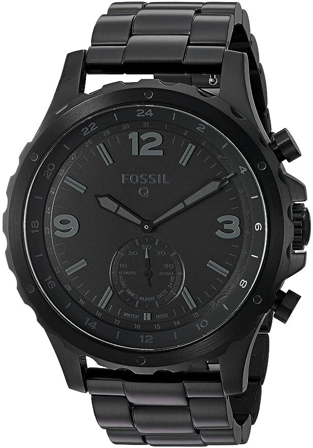 Fossil Q Nate - Reloj de Pulsera para Hombre