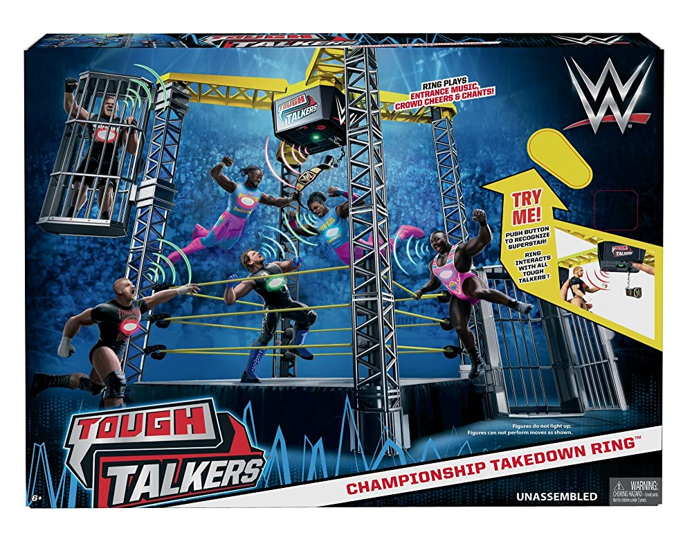 Watch Top Gear Online >> Mattel WWE Tough Talkers Ring Playset New Images ...