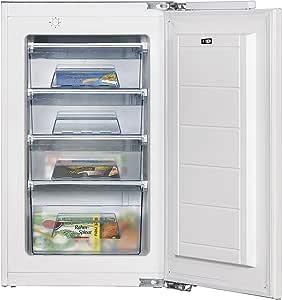 Amica EGS 16183 - Congelador (Vertical, Incorporado, Color blanco ...