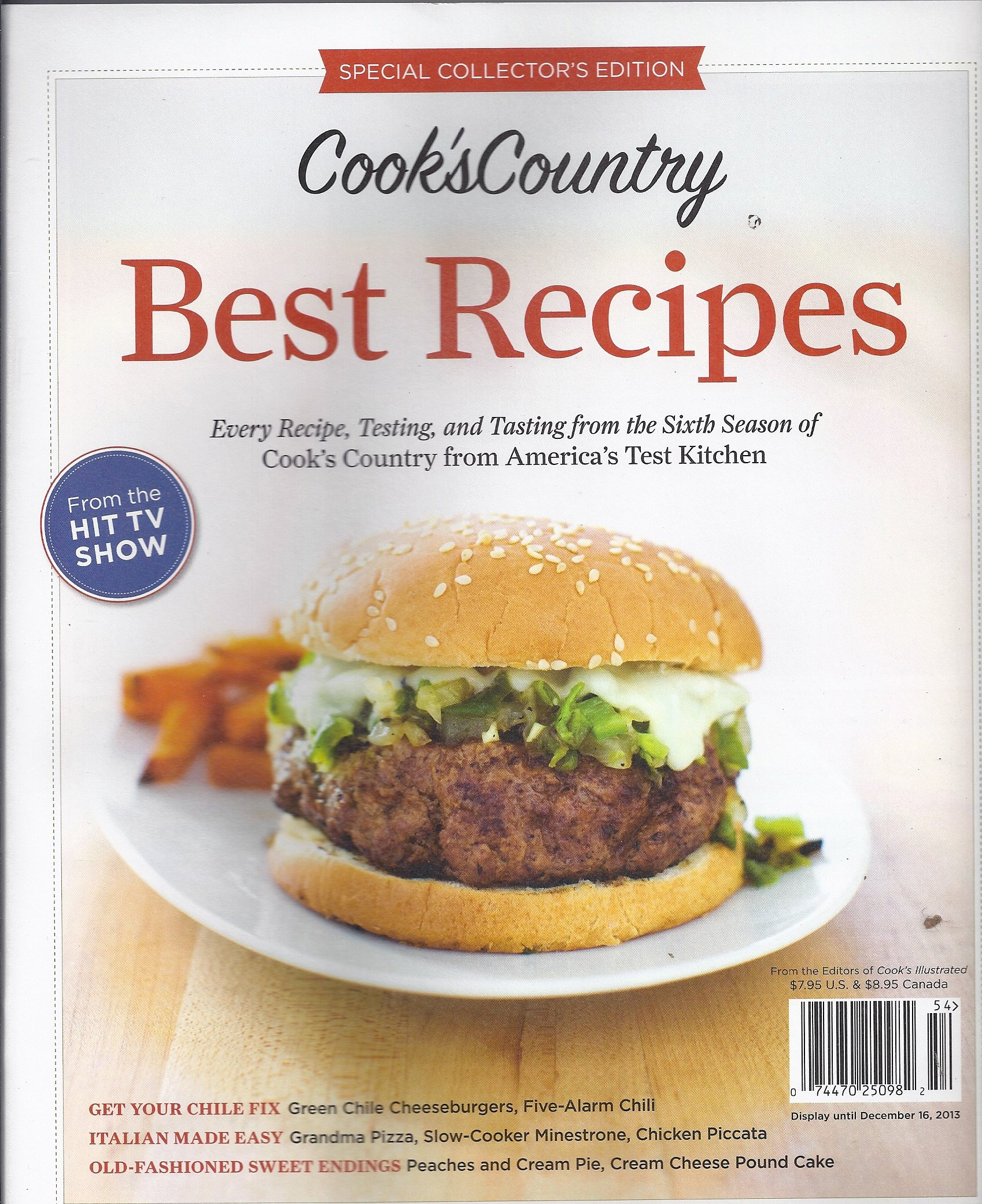 Cook`s Country Magazine Best Recipes 2013 PDF