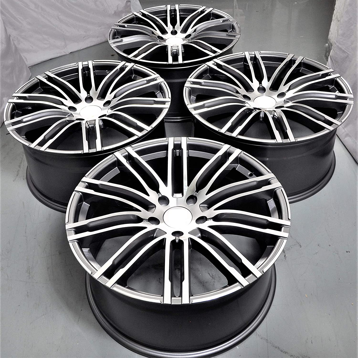 Amazoncom 21 Inch Wheels Rims Full Set Of 4 Fit For