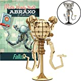 """IncrediBuilds Fallout Mr. Handy Poster and 3D Wood Model Kit - Build, Paint and Collect Your Own Wooden Model - Great for Teens and Adults,17+ - 6.5"""""""
