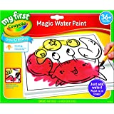 Crayola My First Magic Water Paint Set, Toddler Art Supplies, No Paint Needed