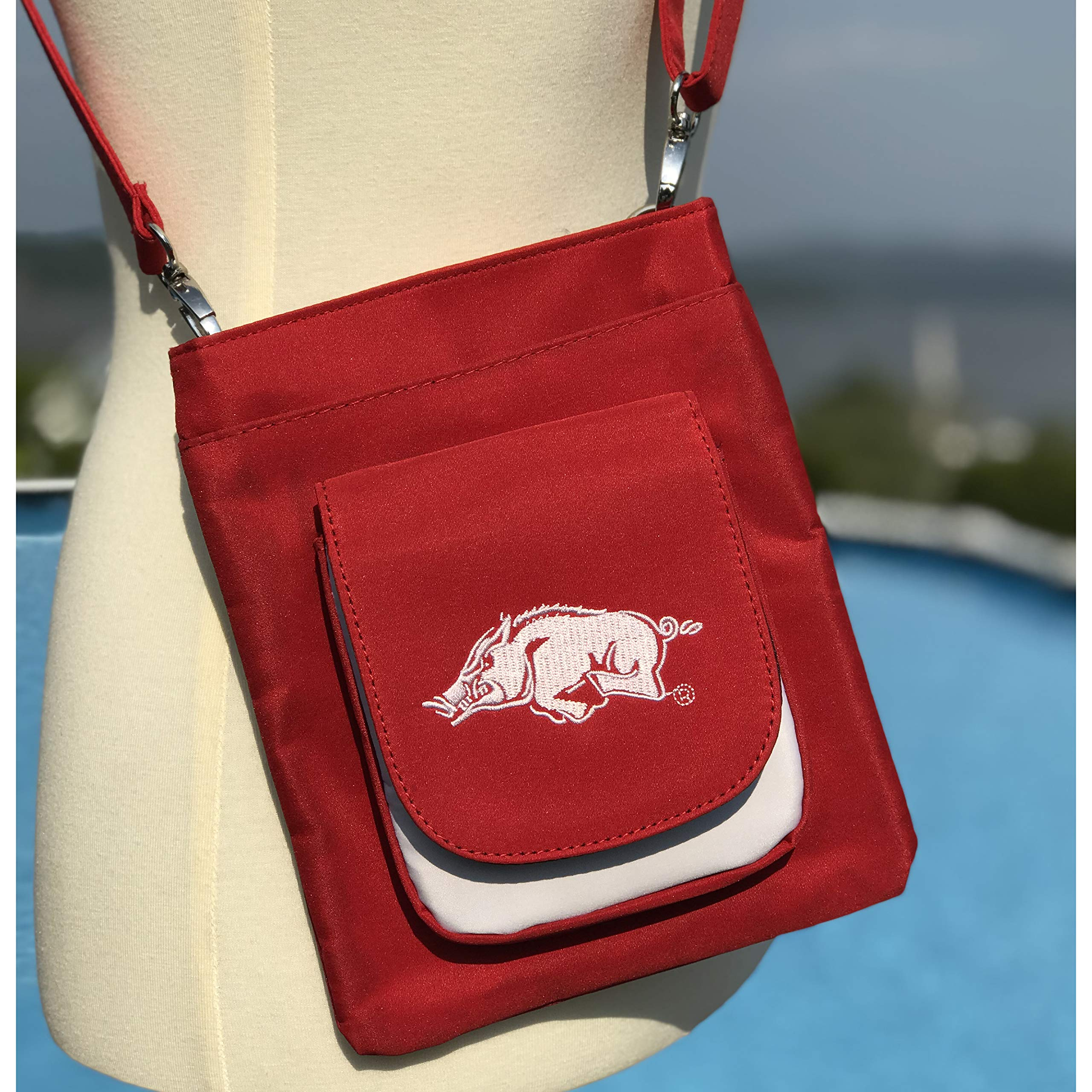 NCAA Arkansas Razorbacks Crossbody Purse-Handbag-Travel