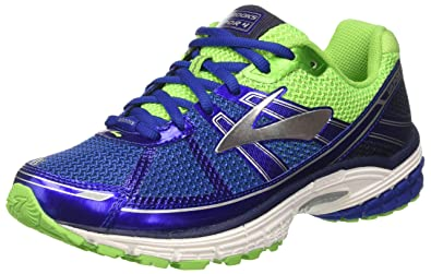 Brooks Vapor 4, Chaussures de Course Homme, Bleu (Surf The Web/Green Flash/Silver), 44.5 EU