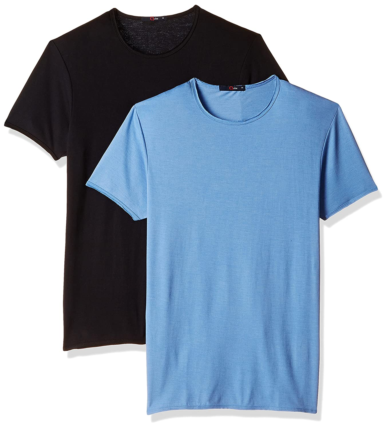 Qube By Fort Collins Mens T-Shirt (Pack of 2)