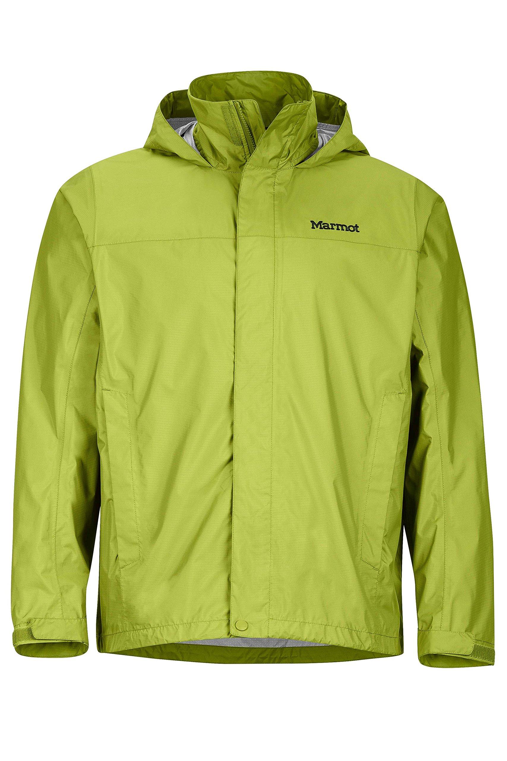 Marmot Men's PreCip Jacket, Green Lichen, M by Marmot