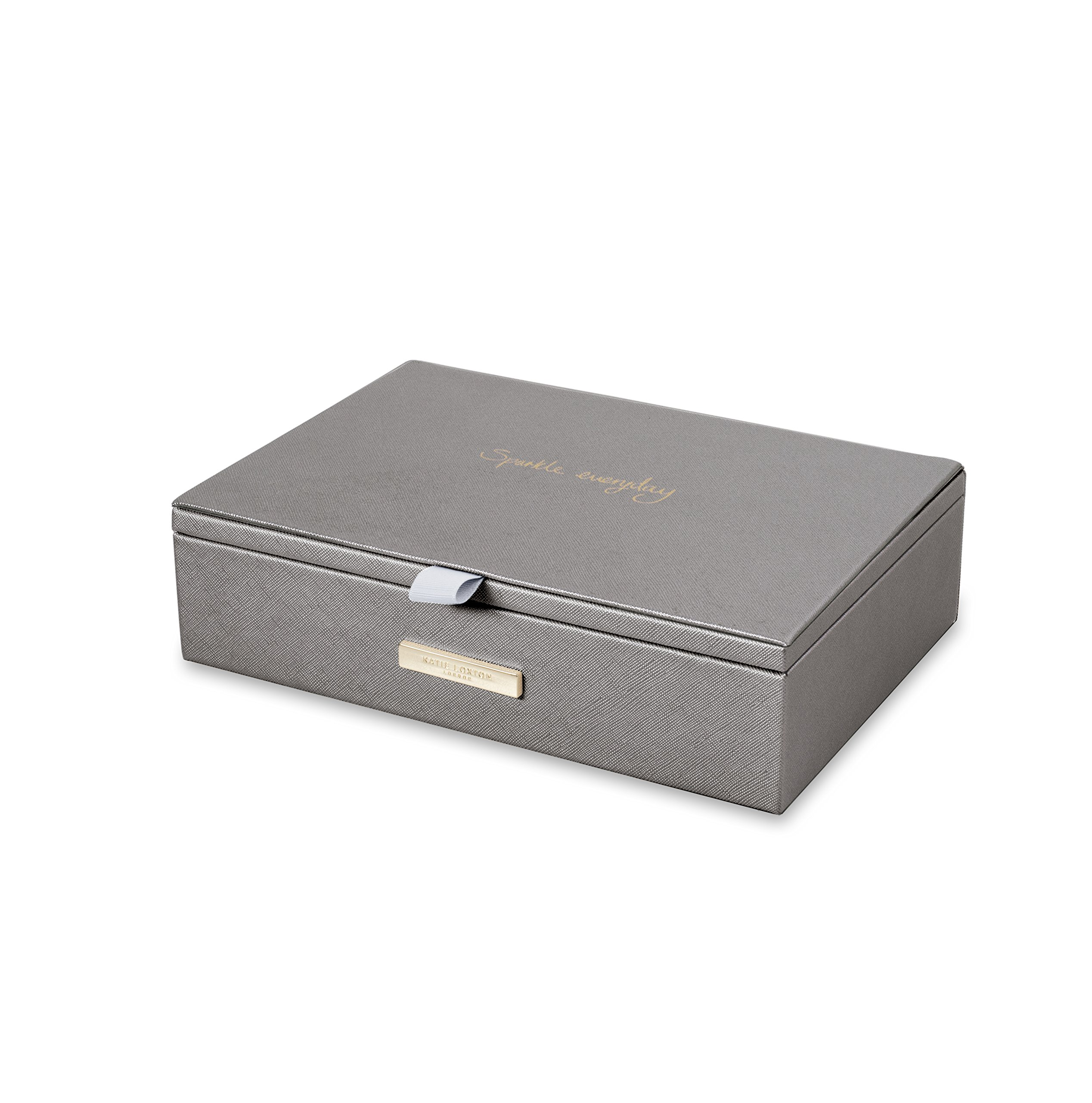 Katie Loxton - Jewellery Box - Sparkle Everyday - Metallic Charcoal by Katie Loxton