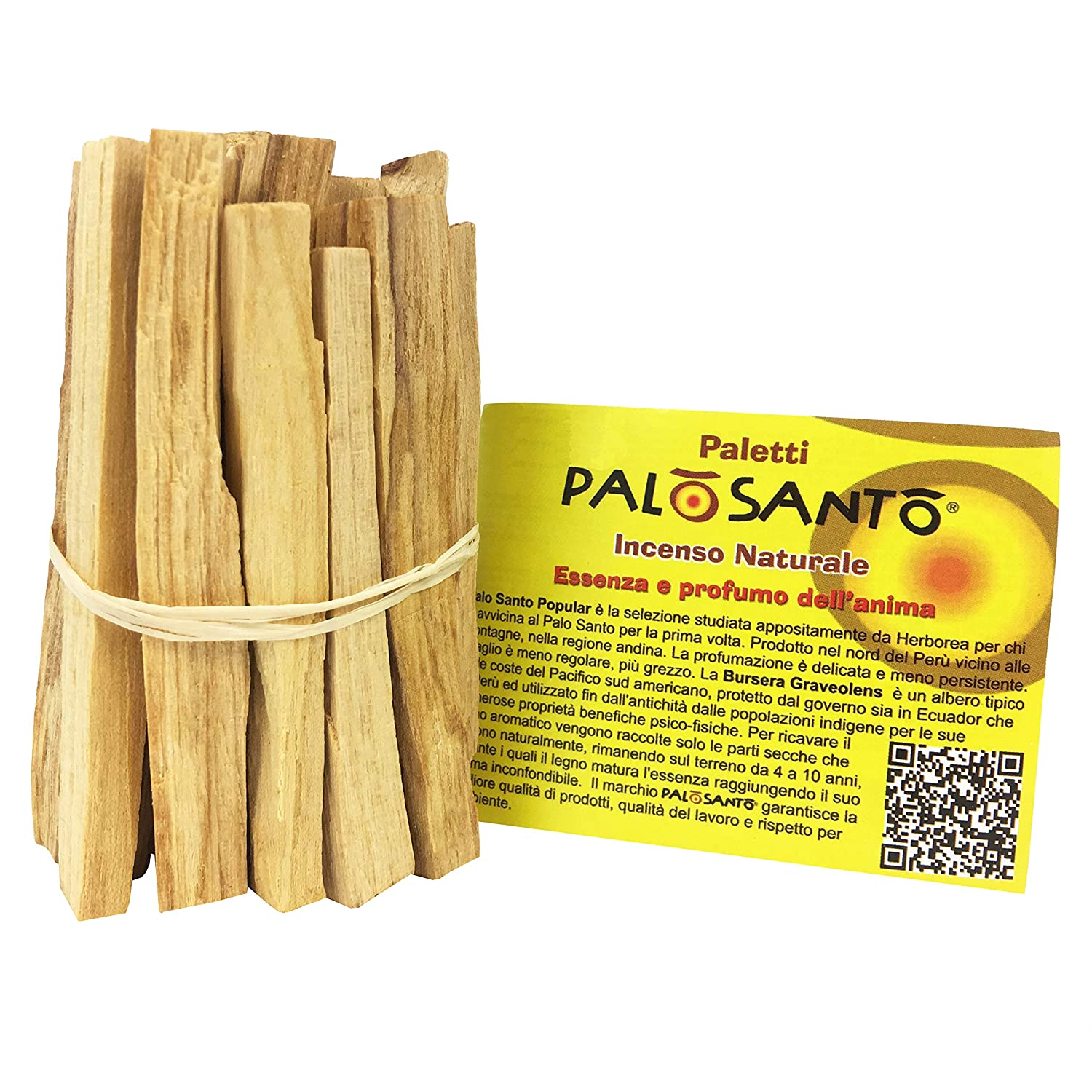a bundle of wild harvested sustainably sourced palo santo sticks by Paletti