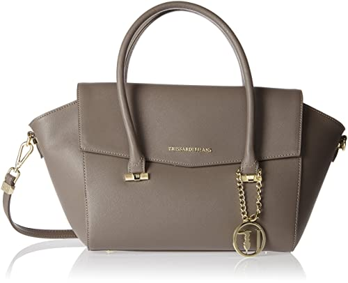 Jeans 1y090122 Donna A taupe Borsa Beige Mano 75b00014 Trussardi FTnxqwdd