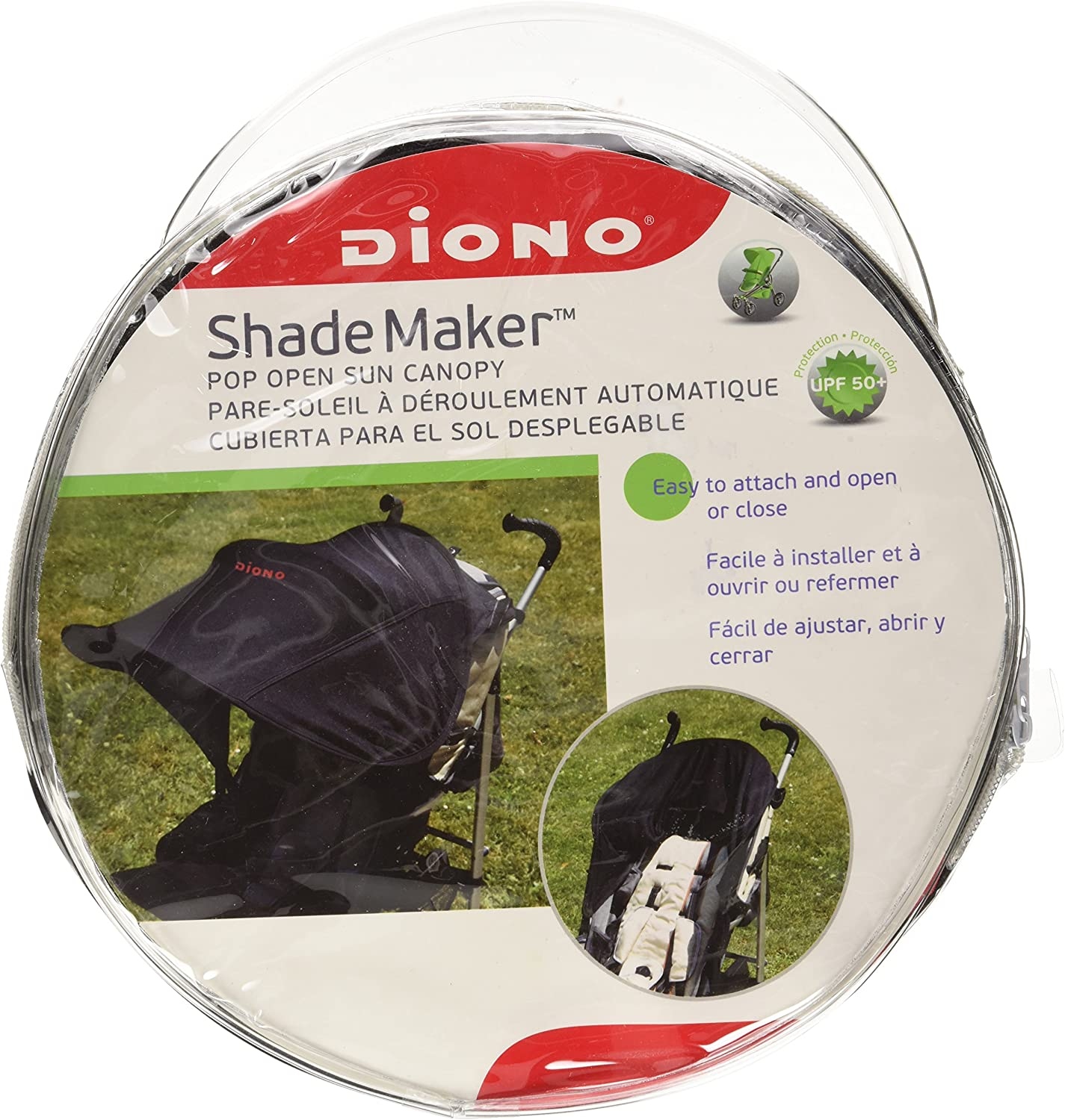 Shade Maker Canopy Diono Grand Canopy pour Poussette