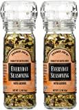 Trader Joe's Everyday Seasoning with Grinder 2.3 oz Pack of 2