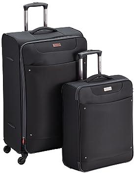 American Tourister Juegos de maletas, 79 cm, 106 L, Negro: Amazon.es: Equipaje