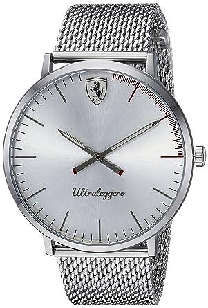 d177192c477 Image Unavailable. Image not available for. Color  Scuderia Ferrari Men s  ULTRALEGGERO Ultra Slim Quartz Watch ...