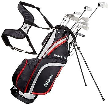 Wilson, Set completo para principiantes, 10 palos de golf con bolsa de transporte,
