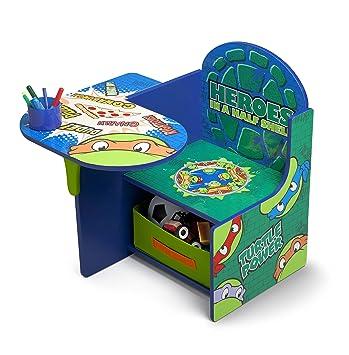 Tremendous Delta Children Chair Desk With Storage Bin Ninja Turtles Pabps2019 Chair Design Images Pabps2019Com