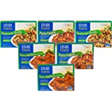HMR Vegetarian Medley Entree Variety Pack, includes: 2 servings each of Cheese and Basil Ravioli, Pasta Fagioli, Mushroom Risotto, 8 oz. servings, 6 count