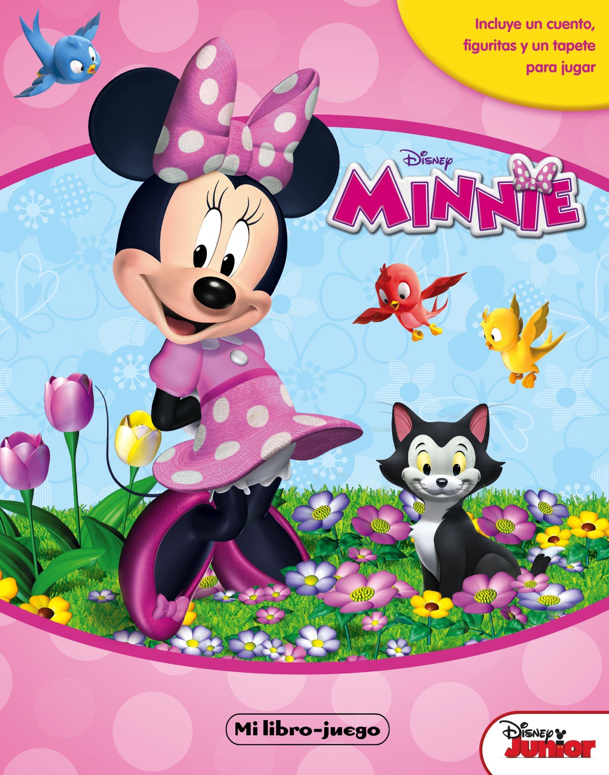 Minnie Mouse. Libroaventuras: Incluye un tablero y figuras para ...