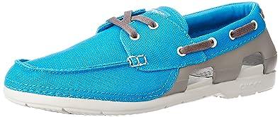 143e769b6 Crocs Mens Beach Line Lace Up Boat Shoes
