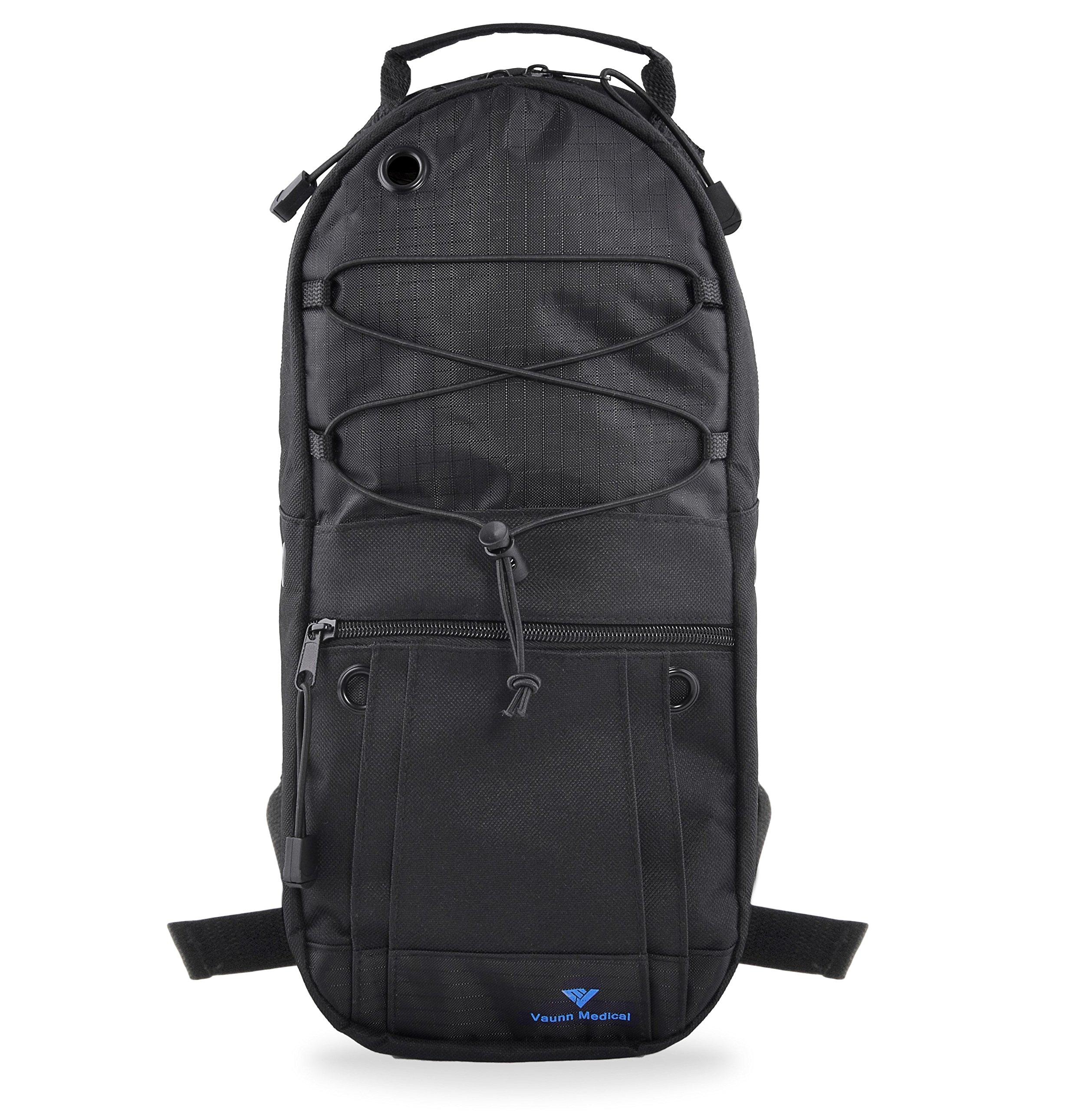 Vaunn Medical Oxygen Cylinder Tank Backpack Bag with Adjustable Straps M6/M9 Cylinders