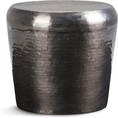 Troy Contemporary 23 inch Wide Metal Accent Side Table