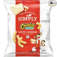 Deals on Simply Cheetos Puffs White Cheddar Cheese Flavored Snacks
