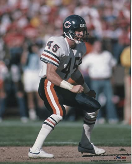 the latest 0c6d0 62f98 Amazon.com : Gary Fencik Chicago Bears Unsigned Licensed ...