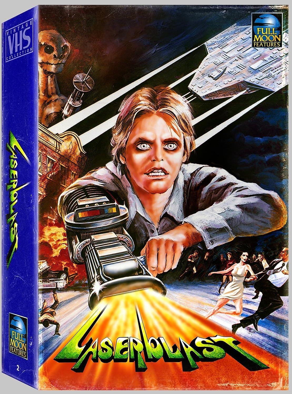 Laserblast Vhs Retro Big Box Collection blu-Ray + Dvd Reino ...