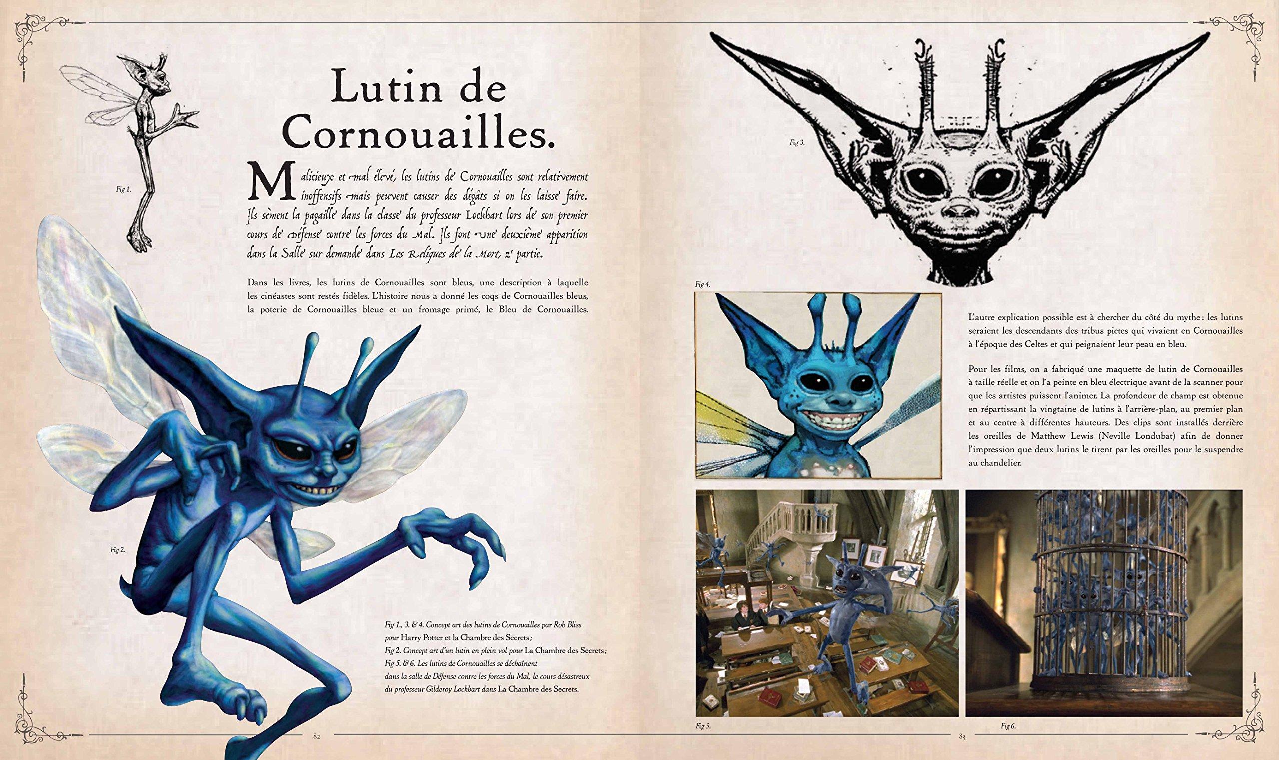 Amazon Fr Harry Potter Le Grand Livre Des Creatures