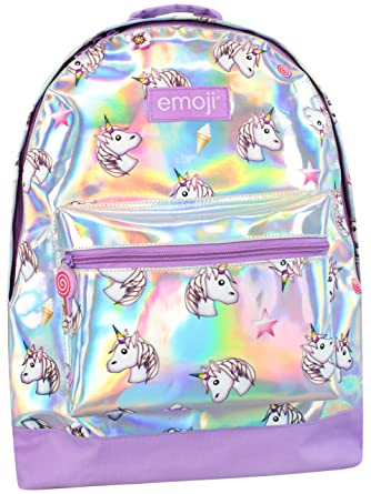 3c307b719cb623 Emoji Girls Emoji Unicorn Backpack: Amazon.co.uk: Clothing