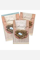 FULL SET: Book + DVD + Study Guide- One Thousand Gifts: A Dare to Live Fully Right Where You Are - Zondervan 2012 Ann Voskamp Hardcover
