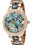Betsey Johnson Women's BJ00478-04 Analog Display Quartz Rose Gold-Tone Watch