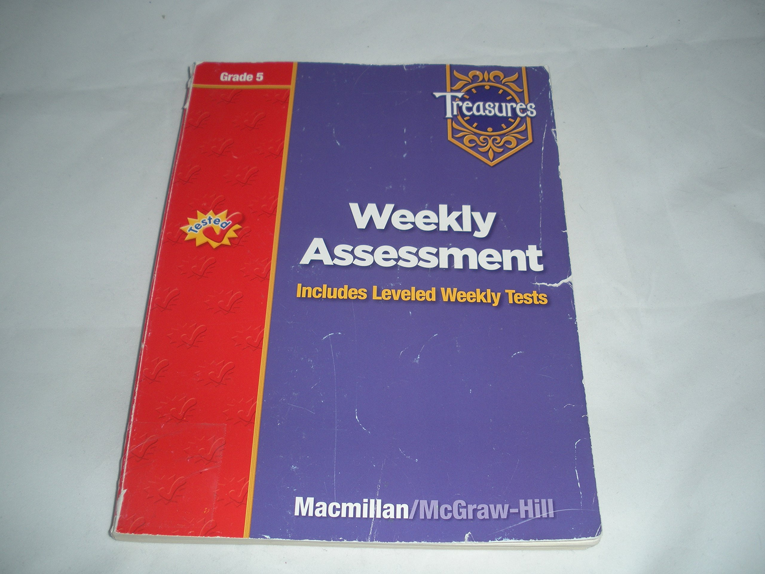 Treasures - Grade 5 - Weekly Assessment - Includes Leveled Weekly Tests:  Treasures: 9780021939428: Amazon.com: Books