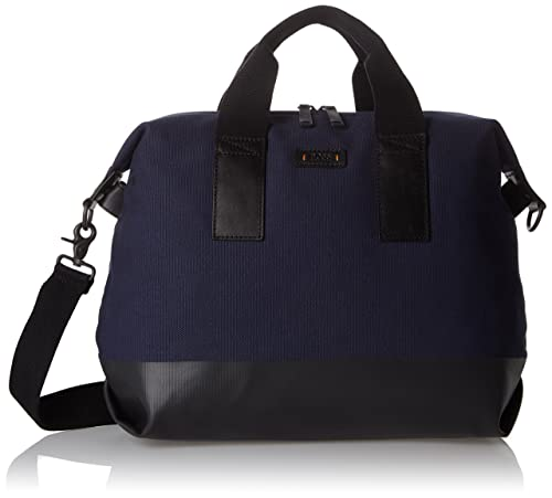 BOSS Orange - Lightime_s Doc, Carteras de mano con asa Hombre, Blau (Navy