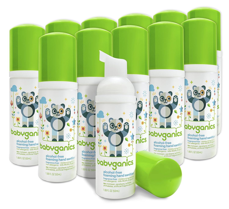 Buy Babyganics Alcohol Free Foaming Hand Sanitizer Fragrance Free