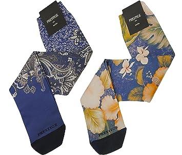 pr880 – 1- Opera (2 pares) calcetines hombre larga estampado – de muy