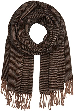 Womens Pcjatakka Long Scarf, Brown (Ginger Snap), One Size Pieces