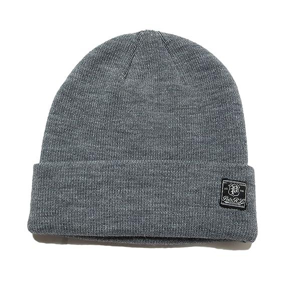 734415dcb39d8 (ポロ ラルフローレン)POLO RALPH LAUREN ニット帽 Cuffed Knit Hat ライトグレー Light